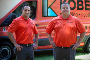 Kobella Plumbing Heating Cooling assists with bathroom and kitchen plumbing repairs and installations