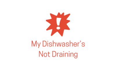 Help! My Dishwasher's Not Draining