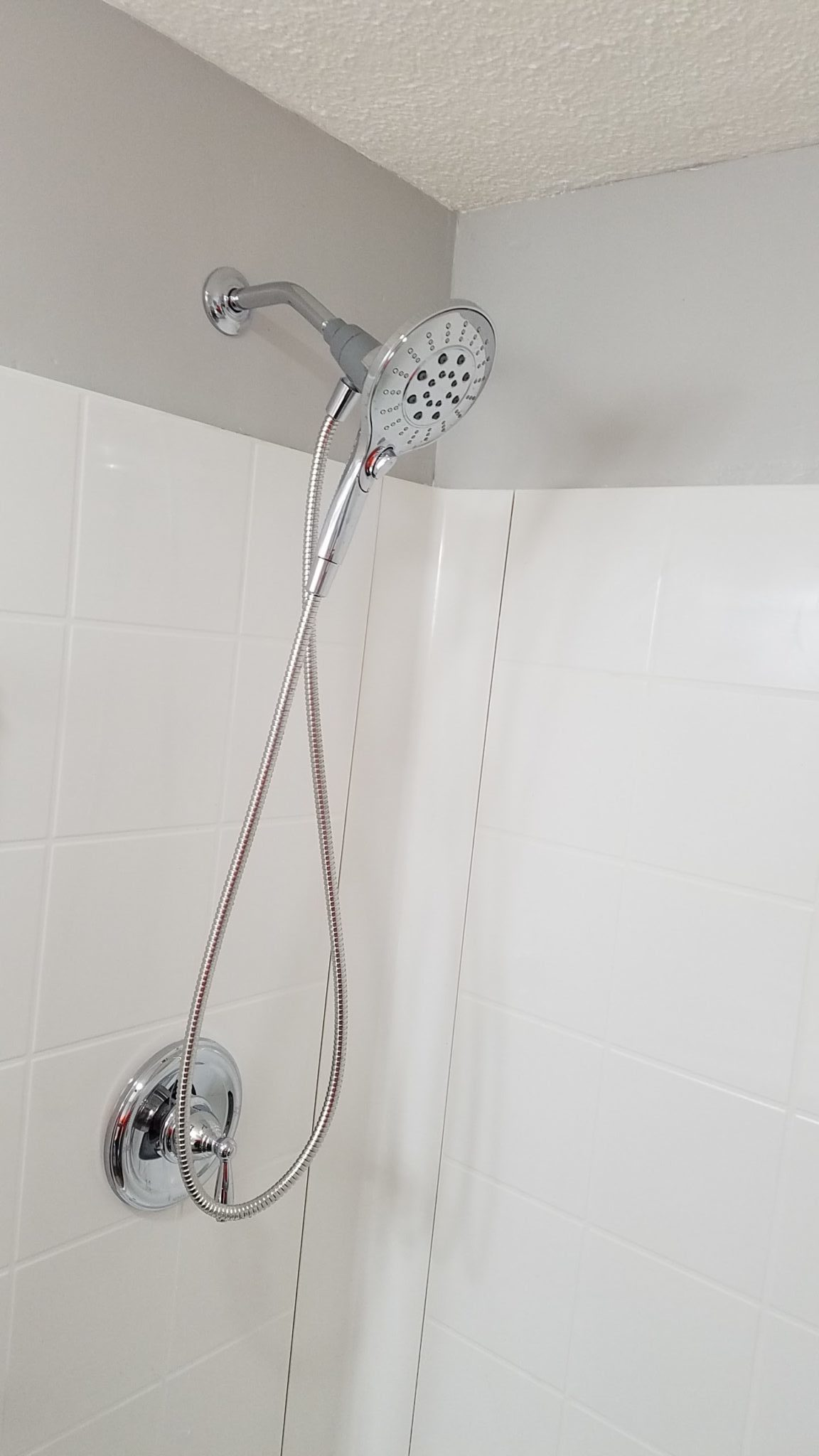Bathroom Remodel - New Shower Head